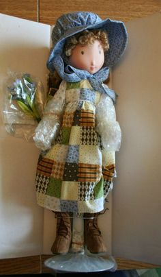 holly hobbie Dolls Dolls, Rag Dolls, Doll Toys, Holly Hobbie, Antique Dolls, Vintage Dolls, Sarah Kay, Childhood Friends, Doll Maker
