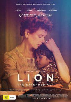 Lion (2016) directed by: Garth Davis starring: Rooney Mara, Nicole Kidman, Dev Patel, Nawazuddin Siddiqui