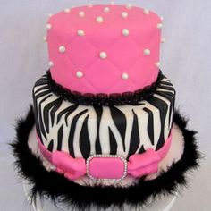 Best Zebra Birthday Cakes