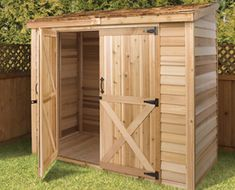lean to storage shed kits - Google Search