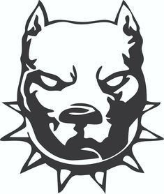 pitbull dog head vinyl window car vehicle decal sticker – winter is coming Pitbull Logo, Tatouage Pit Bull, Tattoo Drawings, Art Drawings, Tattoos, Pitbull Drawing, Tatoo Dog, Marshmello Wallpapers, Bulldog Mascot