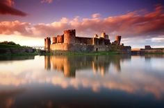 Caerphilly Castle [Welsh for Castell Caerffili] is a medieval fortification in Caerphilly in South Wales. The castle was constructed by Gilbert de Clare in the 13th century