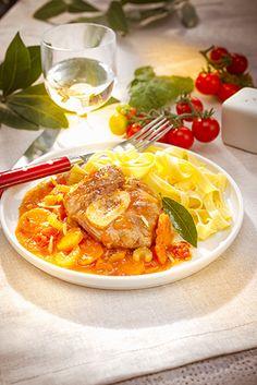 recette italienne Osso buco à la milanaise companion moulinex italian food