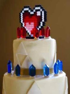 Zelda wedding cake? Excuse me while I scoop my jaw off the floor...