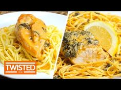 Lemon Butter Chicken Pasta - Twisted