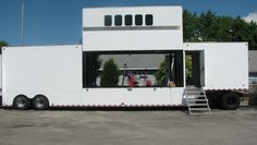 Vertically Expanding Custom Marketing Trailer - Experiential Vehicles