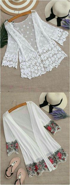 Discover thousands of images about Shop White Tassel Trimmed Chiffon Kimono online. SheIn offers White Tassel Trimmed Chiffon Kimono & more to fit your fashionable needs. Blouse Kimono, Motif Kimono, Chiffon Kimono, Kimono Pattern, Kimono Fabric, Floral Kimono, Chiffon Tops, Black Kimono, Pattern Sewing