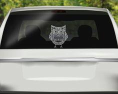 Hippo Laptop Car Graphics Die Cut Vinyl Decal Window - Owl custom vinyl decals for car