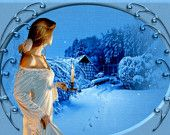 Inspirational Winter 2in1 Angel Card and Tarot Reading from Fortune4Seasonst ™ on Etsy