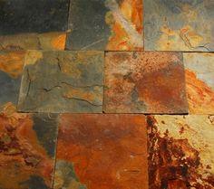 Schiefer Rustic Multicolor spaltrauh