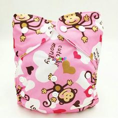 (5pcs/lot) Modern Baby Products Reusable Cloth Nappy Washable Diaper Covers Size Adjustable Organic Diapers for Babies Fashion