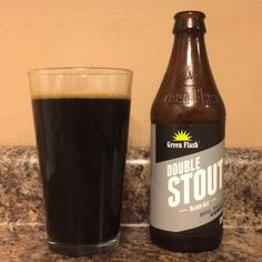 4/5 dark, rich, smooth, with a bit of a bourbon bite. Green Flash Brewing - Double Stout Black Ale - Craft Beer