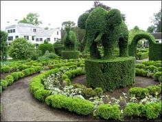 Photo of Animal Topiary for fans of Green.
