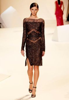 ELIE SAAB. Ready-to-Wear Spring-Summer 2013.  More of 'my' Black Elie Saab!