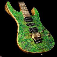 Suhr Custom - Guitars | Amplifiers | Pedals | Pickups Custom Modern Blue Green Algae