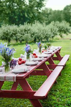 idée de décoration de table de printemps et bouquets de fleurs pour table