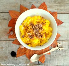My Culinary Curriculum: Purée de butternut aux noisettes grillées (Buttern...