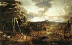 Charles Fonseca: Lucas van Uden - Paisagem com a Fuga para o Egito,...