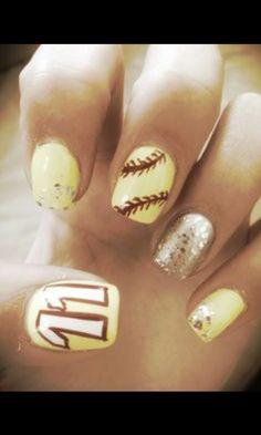 Softball Nails!!