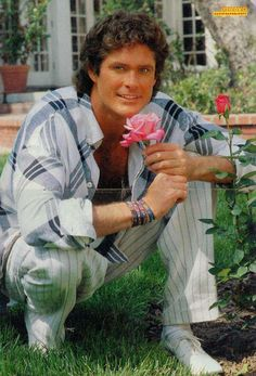 """Born: July 17th 1952 ~ David Michael Hasselhoff, nicknamed """"The Hoff"""", is an American actor, singer, producer, and businessman.           Partner: Hayley Roberts....Spouse: Pamela Bach (m. 1989–2006), Catherine Hickland (m. 1984–1989) Nadia's Theme, Kitt Knight Rider, K 2000, Movie Hall, Old Portraits, Funny Toys, Baywatch, Young And The Restless, Tv Actors"""