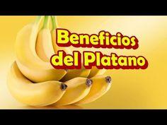 Los Beneficios y Propiedades del Platano para la Salud, Comer 2 Plátanos al Día por 1 mes - YouTube