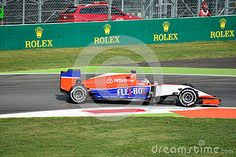 Manor F1 Team Marussia MR03 Driven By Will Stevens At Monza - Download From Over 35 Million High Quality Stock Photos, Images, Vectors. Sign up for FREE today. Image: 58940300