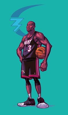 Dwayne Wade by kickstandkid78 on DeviantArt