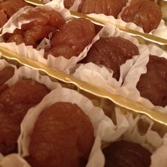 Candied chestnut..God knows it was the best part of my all childhood!