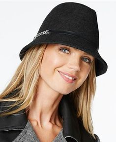 Calvin Klein Wool Felt Fedora - Hats, Gloves & Scarves - Handbags & Accessories - Macy's
