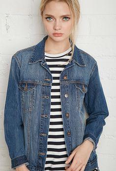 Classic Denim Jacket   Forever 21 - 2000167340