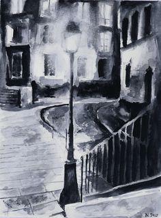 Sold - Montmartre - Paris by nicolasjolly.deviantart.com on @deviantART