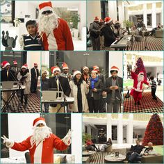 Christmas celebration in full swing at Le Meridien Gurgaon #LMGurgaon