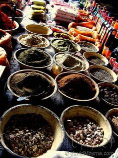 Market in Gyantse, Tibet.