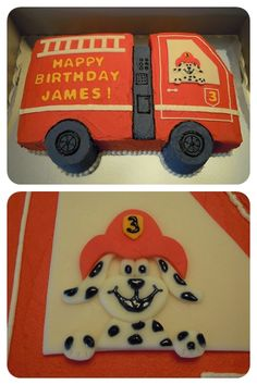 Simple cake, sans dog