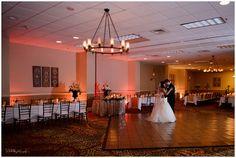 Orlando Wedding DJ, Orlando Wedding Photography, White Rose Entertainment, Sivan Photography, Central Florida Wedding Venue, Embassy Suites Weddings, red uplighting, reception