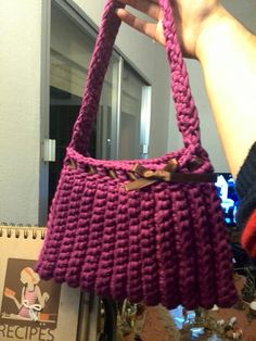 Bolso trapillo crochet xxl