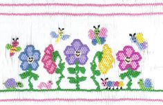 My Garden Friends Smocking Plate