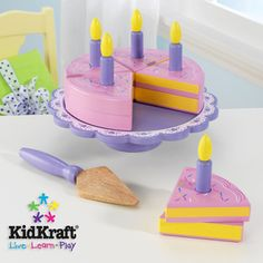 KidKraft Birthday Cake Set, $24.87