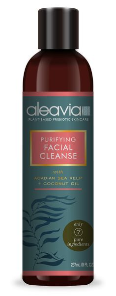 Aleavia Purifying Facial Cleanse Amber Bottle, $20.