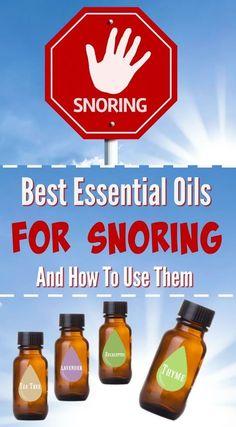Best Essential Oils for Snoring - Natural Mavens