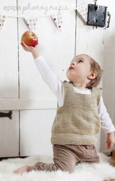 Süßer Babypullunder - Gestrickt