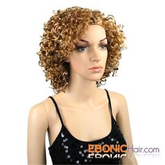 Sensationnel, Instant Weave, Instant Weave HZ 7071, Half Wigs, Short Wig, Curly Wig, Afro Style,