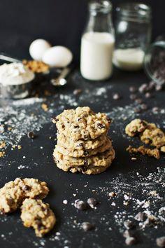 Oatmeal chocolate chip cookies like Mom makes