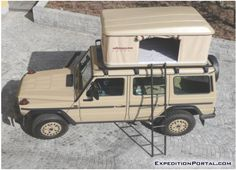The aim was to conceive and provide the ultimate expedition vehicle in terms of performance, comfort and reliability.  The vehicle uses the latest version of the legendary Mercedes Benz/Styer Puch G 461 model, the G280 Green Line with military specification.  The Green Line model distinguishes itself from