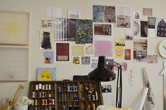 In the Studio :: Kathryn Clark