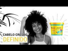 Resenha e aplicação da Manteiga Reconstrutora Novex em cabelo crespo.