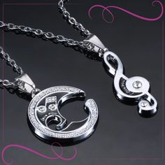 #heart #necklace #jewelry #fashion #jewellery #style #love #silver #valentinecs #girlfriend   #pendant  #luxury #gold #like #instagood  #simple  #jewelryaddict #design #shopping  #gift #beautiful #instajewelry #golden  #Woman #girlfriend   #happy #look #bling #model #giftideas #necklacefashion. Fashion Jewellery, Fashion Necklace, Matching Necklaces, Couple Gifts, Washer Necklace, Bling, Woman, Luxury, Pendant