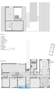 plans - holiday home - Shingle House - Dungeness, Kent - NORD