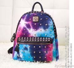 Unique Rivet Galaxy Backpack School Bags is very popular and unique ! Galaxy Backpack, Lace Backpack, Floral Backpack, Backpack Bags, Leather Backpack, Mini Backpack, Cute Backpacks, Girl Backpacks, School Backpacks