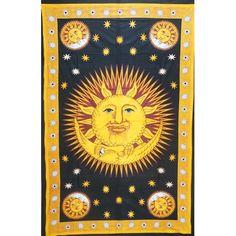 Tenture Moon Under the Sun